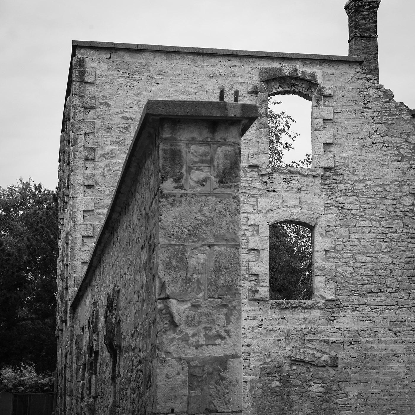 Goldie Mill Ruins